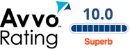 Avvo rating for San Diego Divorce Attorney
